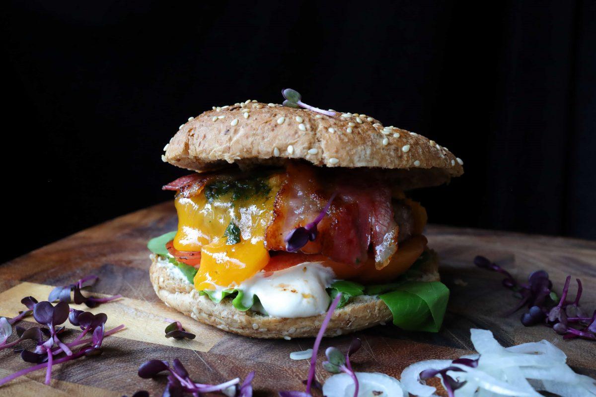 Hamburger Rezept Bild