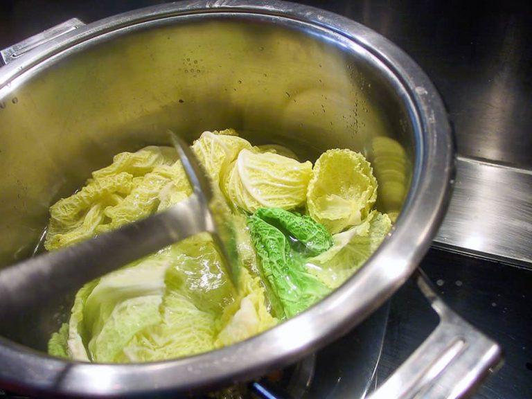 Wirsing kochen