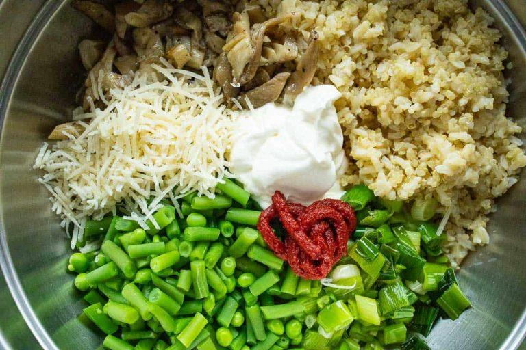 Füllung vegetarische Paprikaschoten