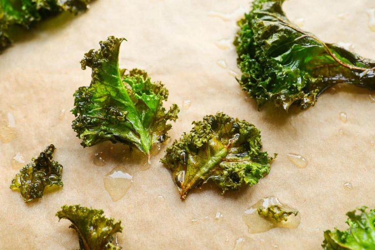 Grünkohl Chips aus dem Backofen