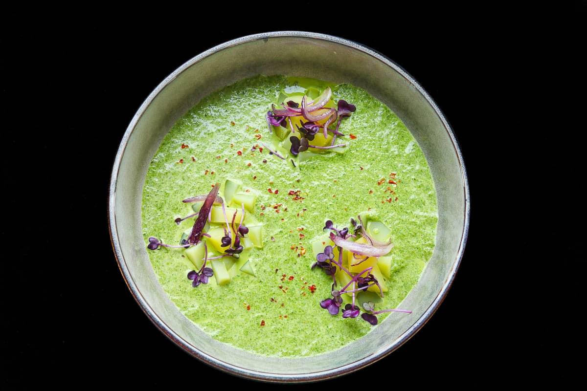 Kale soup vegetarian