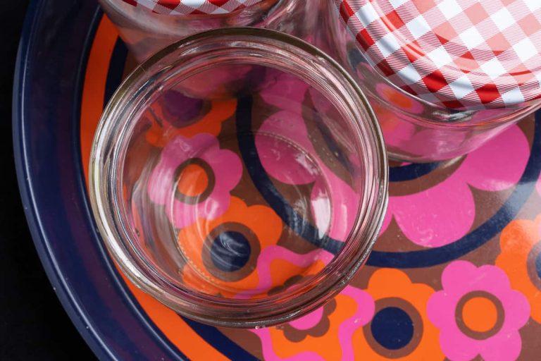 Gläser für Marmelade