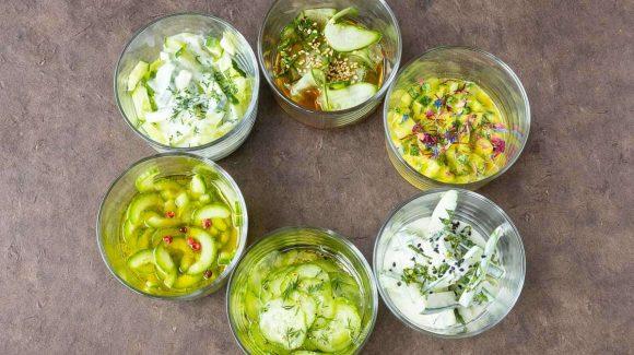 Gurkensalat Varianten