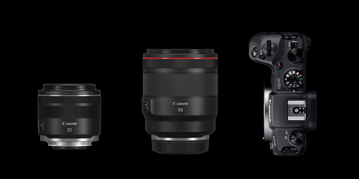 Canon Eos RP mit Objektiven