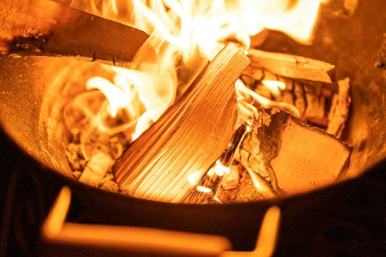 Feuerschale zum Grillen