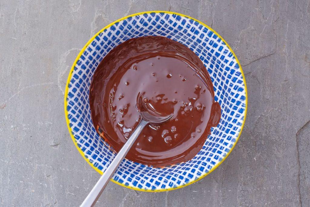 Geschmolzene Schokolade