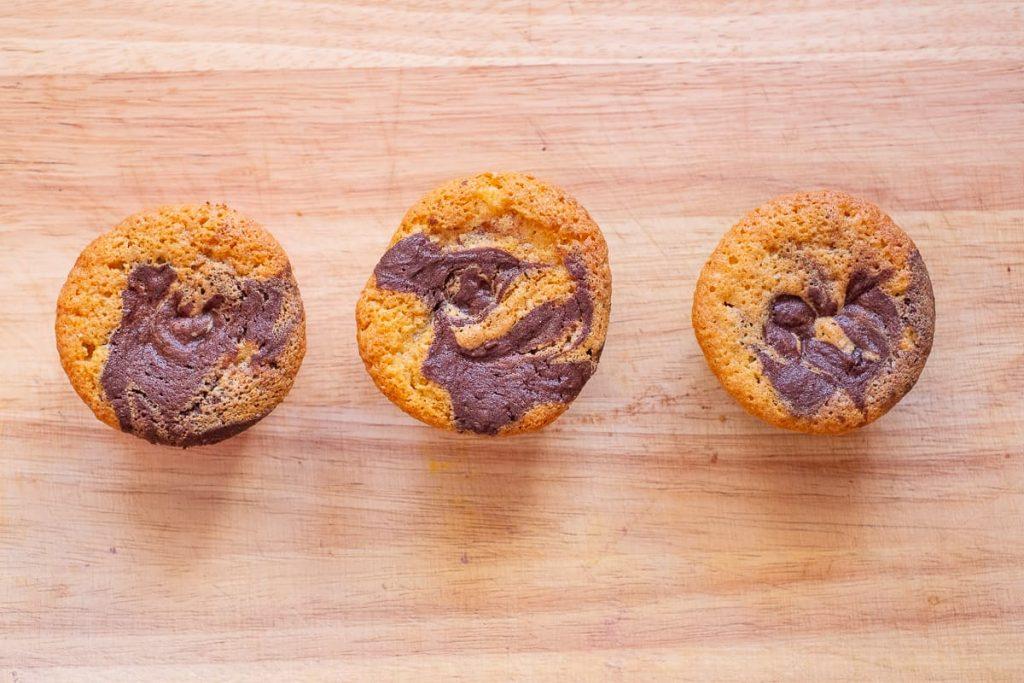 Marmorkuchen Muffins