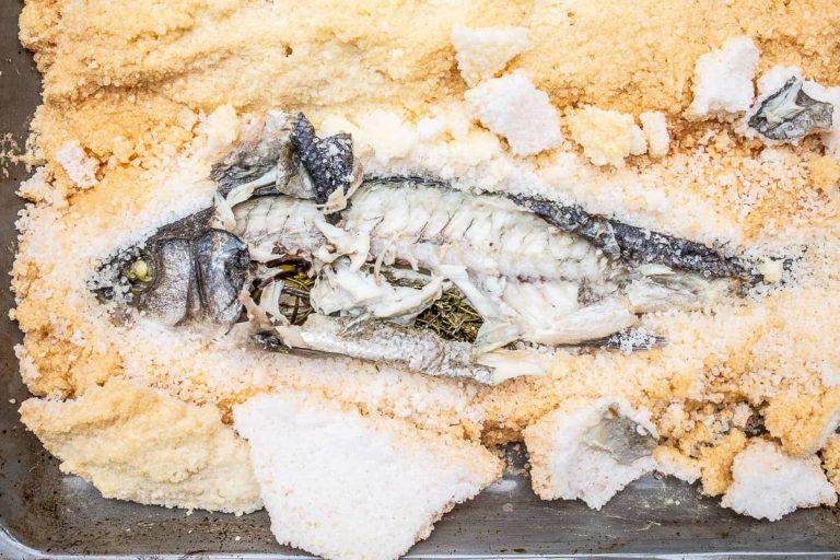 oberes Fischfilet abnehmen