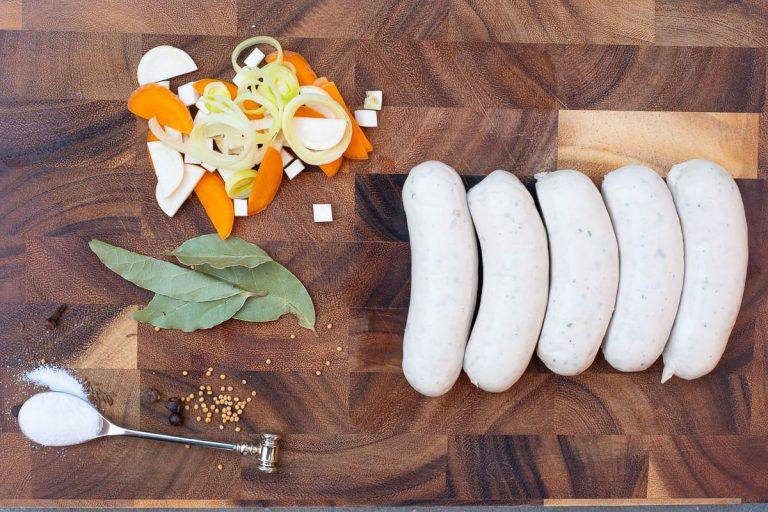 Weißwurst kochen Zutaten