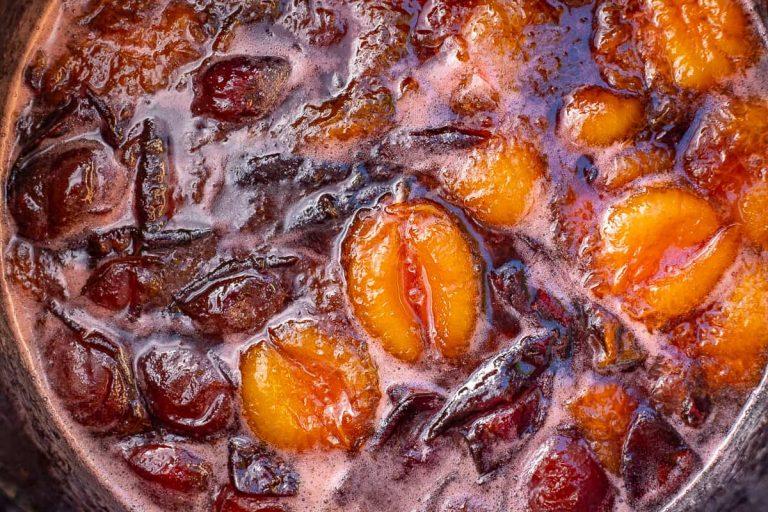 Zwetschgenmarmelade kochen