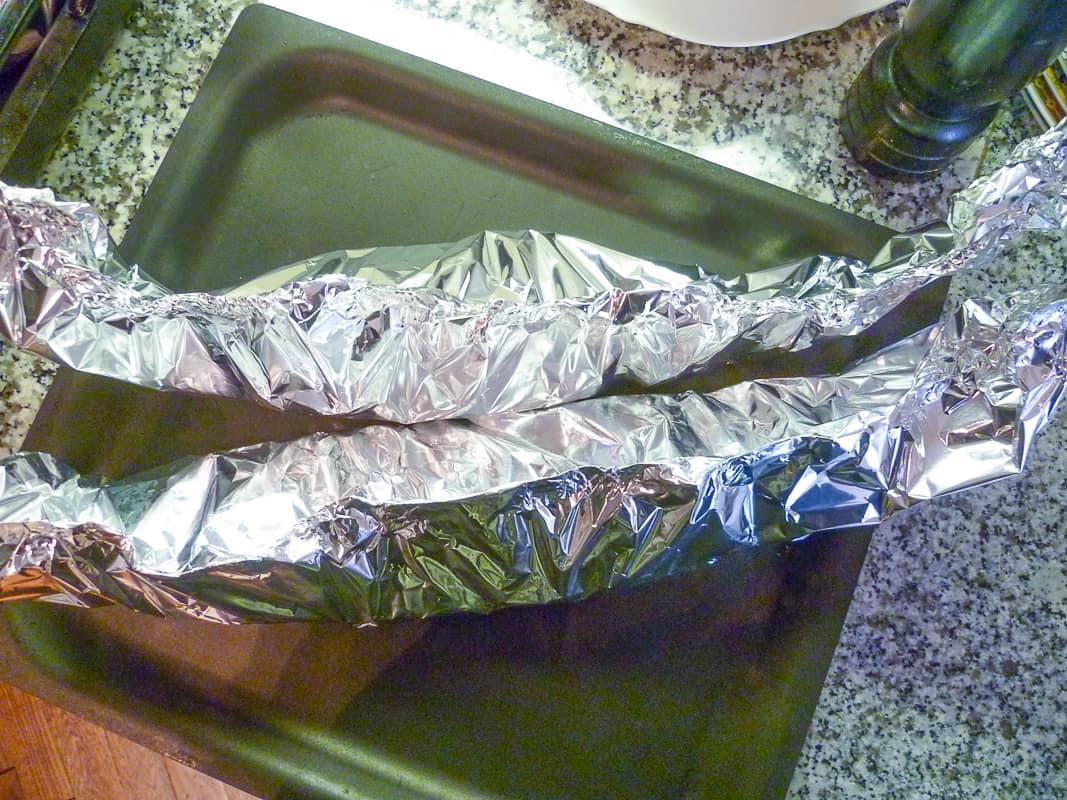 Fisch in Folie zubereiten
