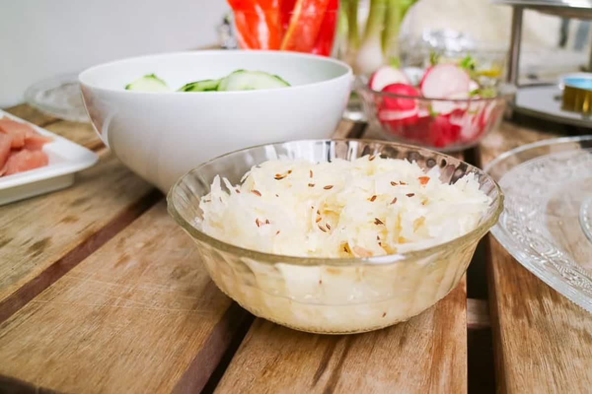 Krautsalat mit Kümmel