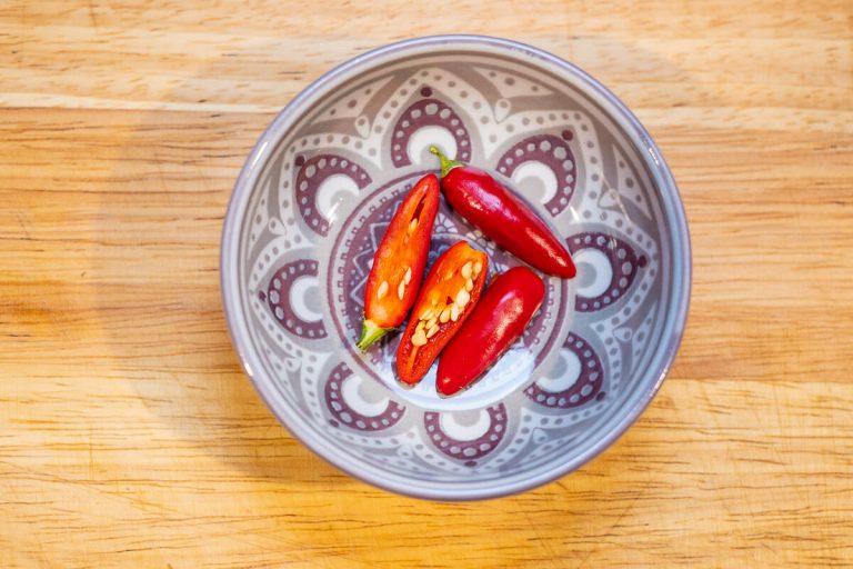 Chili Schoten