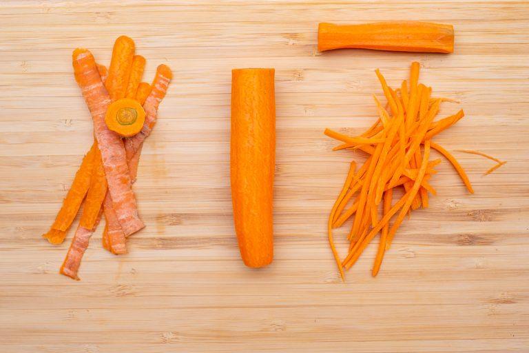Karottenstreifen