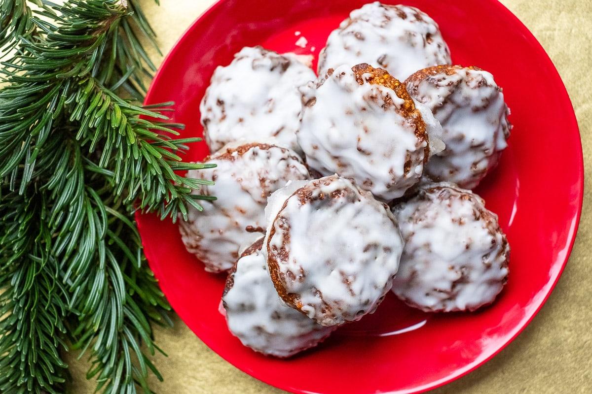 Lebkuchen selber machen, ohne Mehl, traditionell und glutenfrei