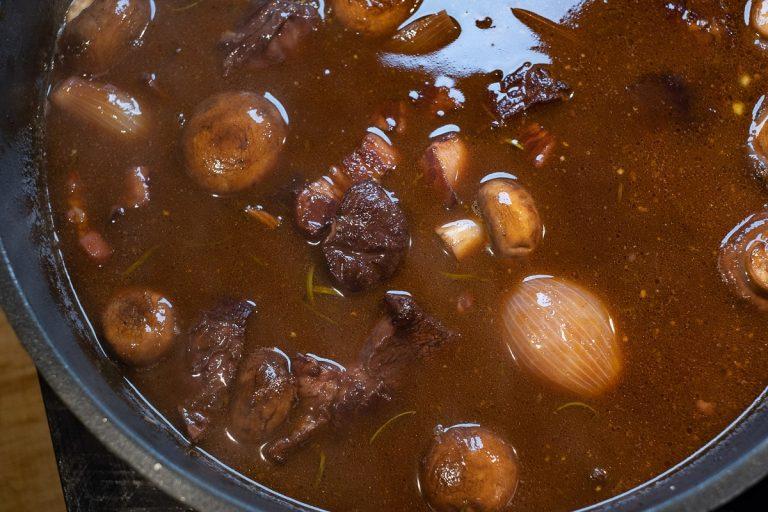 Soße zu speck und champignons