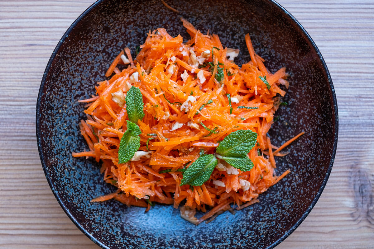 Prepare Carrot Salad successfully, Recipe with Cooking Video and +12 Ideas for Variations