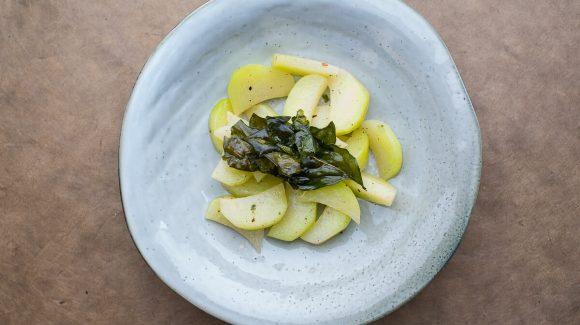 Kohlrabi Gemüse angerichtet Rezeptbild