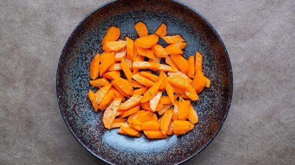 Möhrengemüse Rezept Bild