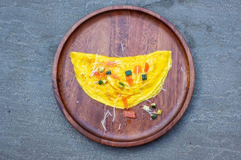 Gemüse Omelette Rezepte Bild