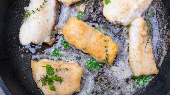 Hamburger Pannfisch Rezept Bild