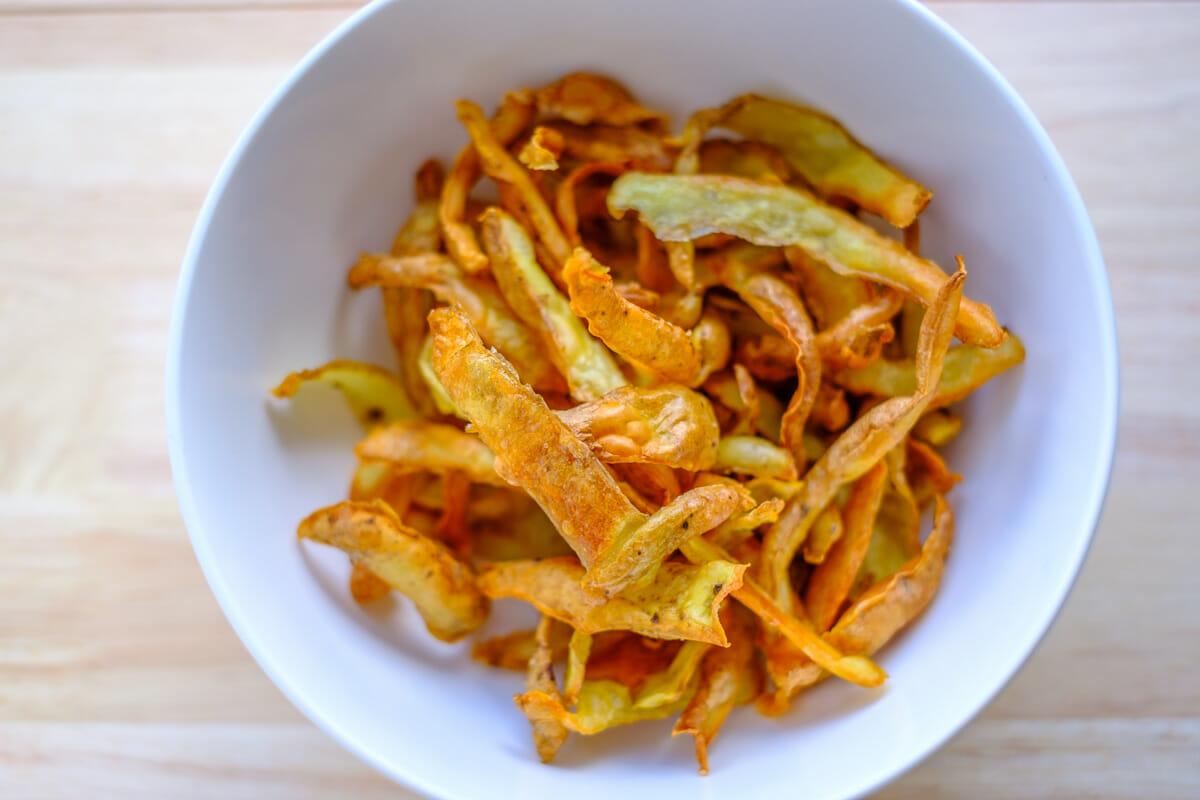 Prepare Crispy Potato Skins