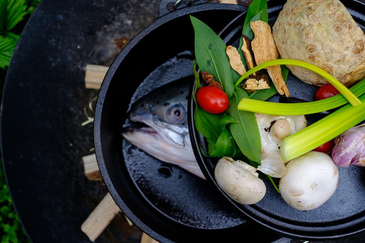Zutaten Fischsuppe
