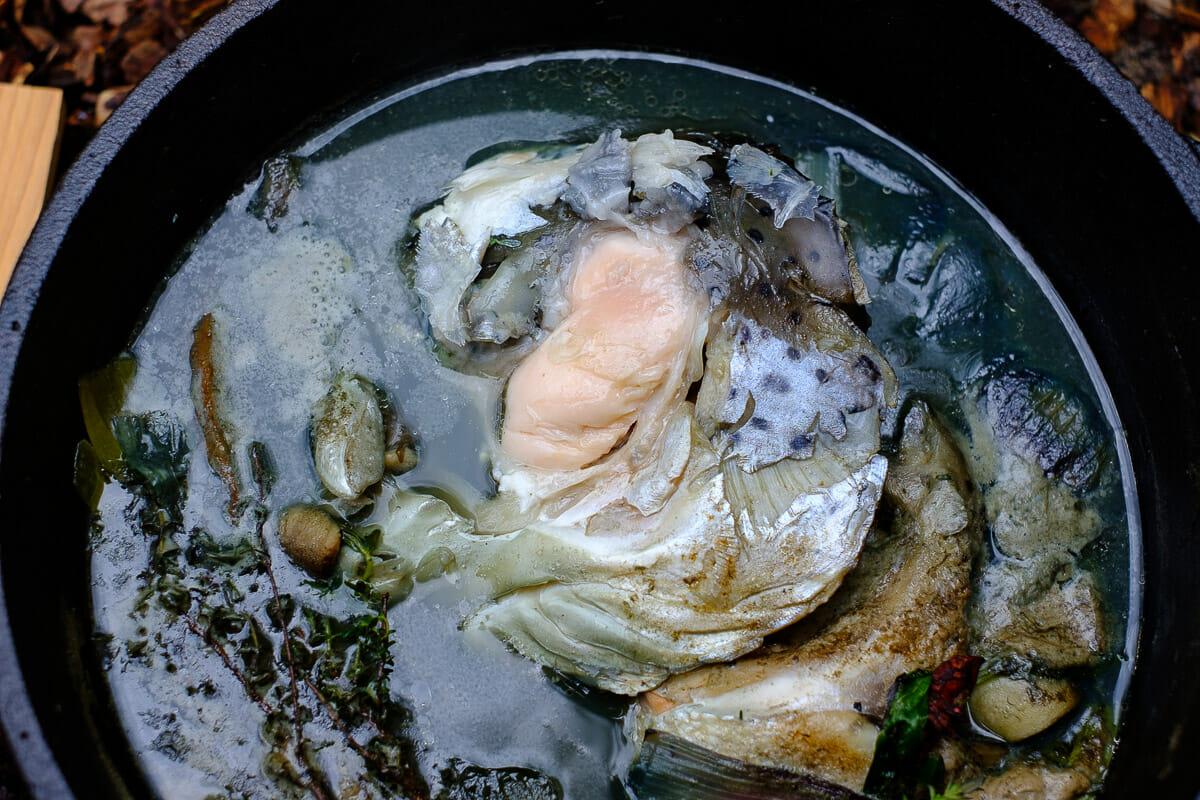 Lachskopf Fischbäckchen