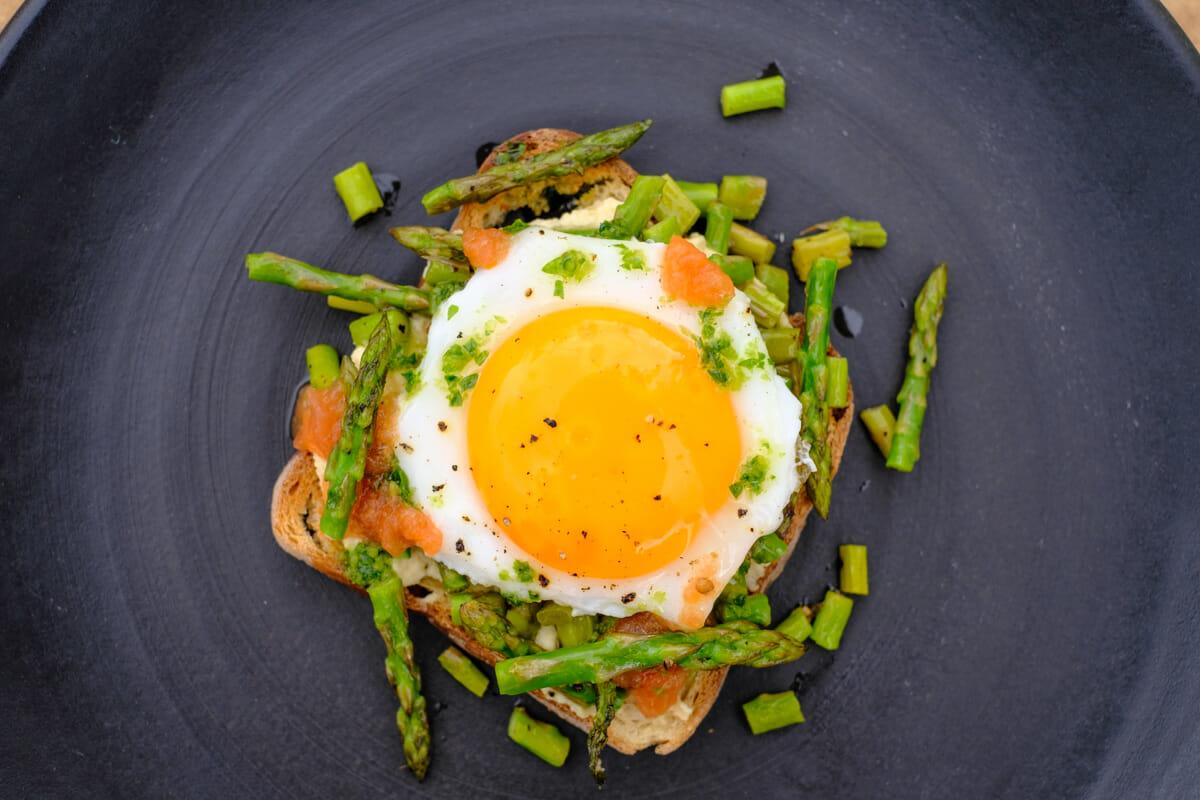 Strammer Max vegetarisch Rezeptbild